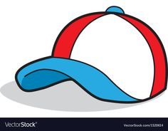 Cartoon Baseball Cap vector image on VectorStock Food Art For Kids, Kids English, Adult Crafts, Teaching Kindergarten, Cartoon Pics, Everyday Objects, Aesthetic Iphone Wallpaper, Kids Education, Projects For Kids