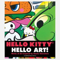 I would LOVE  Hello Kitty, Hello Art! now featured on Fab.