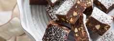 Chocolate Pan Forte | Recipes & More - Curtis Stone