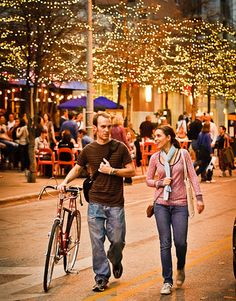 Austin's Second Street District in Downtown Austin is getting into the spirit of the season.