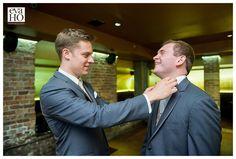 Straighten your bowtie, its wedding time! A groomsman helps the groom prepare for the big day #Groom #Groomsman #BridalParty #WeddingPhotos #EvaHoPhotography #ChicagoWedding #WeddingInspiration #Wedding #WeddingInspo #WeddingPhotographer #WeddingPhotography #Chicago #ChiTown #ChicagoPhotographer #ChicagoWeddingPhotography #ChicagoWeddingPhotographer #TheKnot #HuffPostIDo #InstaLove #PhotooftheDay