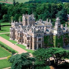 Thoresby Hall, Nottinghamshire, England, on the edge of Sherwood Forest.