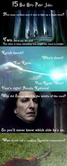 The Best Harry Potter Jokes