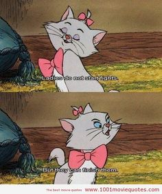 The AristoCats (1970) - movie quote