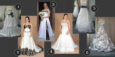 Love these gorgeous camo wedding gowns (white with various camo patterns) by Lady Camo Bridal! Camo Wedding Dresses, Country Wedding Dresses, Wedding Gowns, Country Engagement, Wedding Engagement, Burlap Weddings, Wedding Burlap, Camo Dress, Engagement Pictures