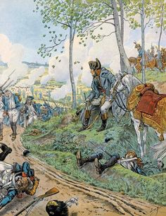 Napoleone osserva il movimento delle truppe - Jacques Onfroy de Bréville