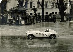 1951 Alfa Romeo 412 Spider Vignale Bonetto & Casnaghi finished 6th in the 1951 Mille Miglia with this car