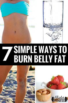 7 Simple Ways to Burn Belly Fat