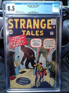 Strange Tales, Marvel Comics, Comic Books, Cartoons, Comics, Comic Book, Graphic Novels, Comic