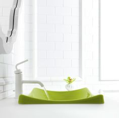 Sneak Preview: Jonathan Adler's Colorful New Sink Collection for Kohler from Apartment Therapy.