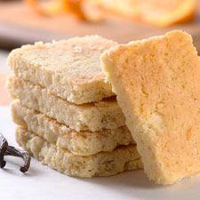 You can always count on @King Arthur Flour - Gluten-Free Orange-Vanilla Shortbread