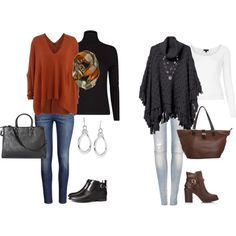 """""""Fall/Winter Outfits for us ladies over 40 :)"""" by jumsgirl on Polyvore"""