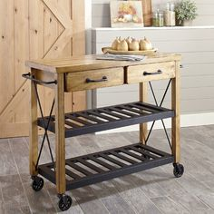 Found It At Wayfair Vargas Kitchen Island Urban Rustic - Wayfair kitchen island
