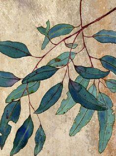 leaves ,watercolor effect Botanical Drawings, Botanical Art, Painting Inspiration, Art Inspo, Art Et Illustration, Illustrations, Art Japonais, Leaf Art, Art Design