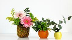 DIY: Centros de mesa con Flores y Frutas - Good Mood Magazine #1