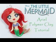 Ariel Little Mermaid Polymer Clay Tutorial - YouTube