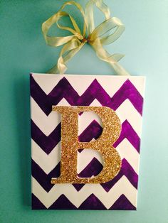 Canvas painting. Easy DIY