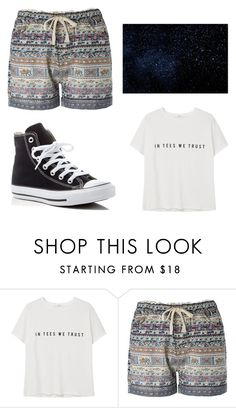"""""""Untitled #248"""" by socialqueen101 ❤ liked on Polyvore featuring MANGO, Converse and Summer"""