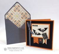 Halloween Hello - created by Mary Fish, Independent Stampin' Up! Demonstrator.  Details, supply list and more card ideas on http://www.stampinpretty.com/2013/09/stampin-up-halloween-hello-card-broom.html