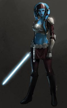 Aayla Secura by KaRolding on DeviantArt - Star Wars Ships - Ideas of Star Wars Ships - Aayla Secura by KaRolding on DeviantArt Bb8 Star Wars, Star Wars Fan Art, Star Wars Clones, Star Wars Concept Art, Star Wars Clone Wars, Images Star Wars, Star Wars Characters Pictures, Star Wars Pictures, Star Wars Collection