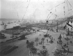 Praça do Duque da Terceira, Lisboa, (post 1894).  Col. Seixas, in José Sarmento de Matos (org. e coord.), Lisboa à Beira Tejo (1860-2010), [Lisboa], C.M.L./E.G.E.A.C., [2010], p. 109.