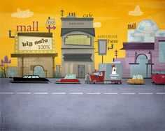 Backgrounds & props by khalid hifzi sadaqa, via Behance