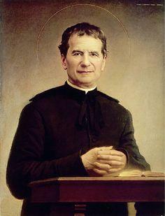 """""""Alegría, oración y comunión son el secreto de nuestra resistencia."""" - San Juan Bosco)"""