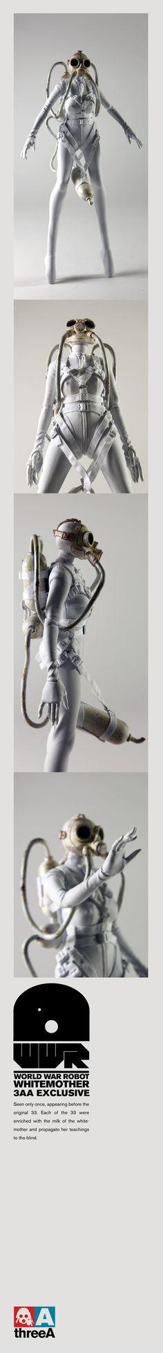 World War Robot White Mother