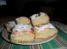 Buchty Slovak Recipes, Czech Recipes, Russian Recipes, Eastern European Recipes, Home Baking, Sweet Recipes, Food To Make, Sweet Tooth, Sweets