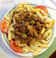 Picado Regional   Minced meat with chips