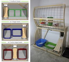 Pet Outhouse Offers a Stylish Solution for Litter Box Management Katzentoilette in der Garage