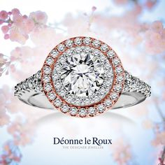 We are shaped and fashioned by those we love — Geothe #WeddingWednesday #DLR #Engagement #Diamonds