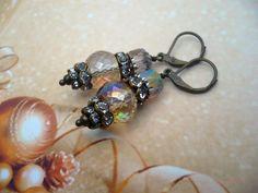 Eyecatcher - Oorbellen met steentjes van CindyrellaJewels op DaWanda.com