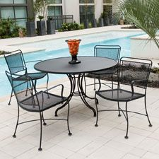 Constantine Wrought Iron collection   Woodard Furniture #all-weather #outdoor #furniture