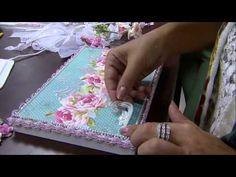 Mulher.com 16/02/2015 Marisa Magalhães - Caixa com scrap decor Parte 2/2 - YouTube