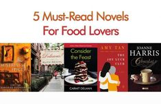 These delicious must-read novels should be added to all food lovers' reading lists. Chocolate Festival, Chocolate Shop, Famous Italian Food, The Joy Luck Club, Must Read Novels, Recipe Icon, Melting In The Mouth, Dim Sum, Reading Lists