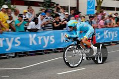 Vincenzo Nibali of Italy riding for Astana races to 22nd place in the individual time trial in stage one of the 2015 Tour de France on July 4, 2015 in Utrecht, Netherlands. #TDF2015 #rm_112