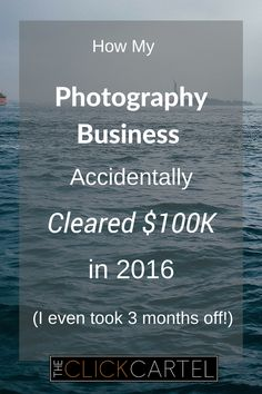 I've always wondered how pro photographers are able to take so much time off. This guy banks 100K a year and still takes summers off to travel. #photography #wah