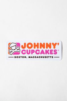 My two favorite things Dunkin Donuts and Johnny Cupcakes