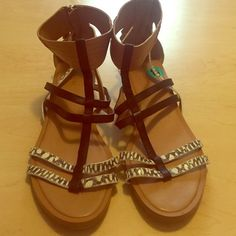 Coach Sandals ☀️ Worn once around the house practically NEW. No box. Coach Shoes Sandals