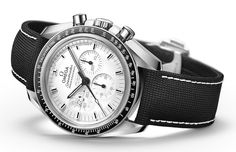 All about the strap! Omega Speedmaster Apollo 13 Silver Snoopy Award Limited Edition.