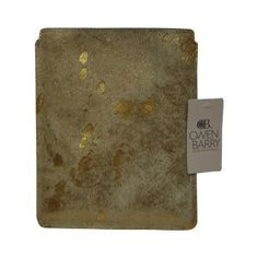 Owen Barry Bags iPad Case Gold Acido