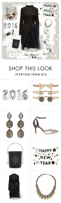 """NYE Style"" by musicfriend1 ❤ liked on Polyvore featuring Accessorize, ADORNIA, Mint Velvet, Kate Spade, West Elm, Lattori, J.Crew and nyestyle"