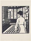Jean-Emile Laboureur - La Veranda, 1902, woodcut