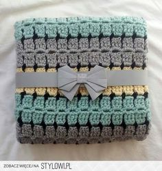 thredHED: Retro Baby....Buggy Blanket na Stylowi.pl