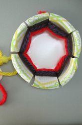 Paper Bowl Basket Weaving