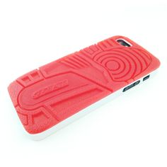 fire red iii iphone 5 case.