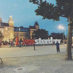Finally nobody's here.  #Netherlands #Amsterdam
