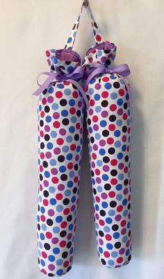 Boot Shapers  Muli Coloured Dots by FillYourBootsByQ on Etsy