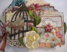Birdcage mini album by Marla Venette - View 1 - front